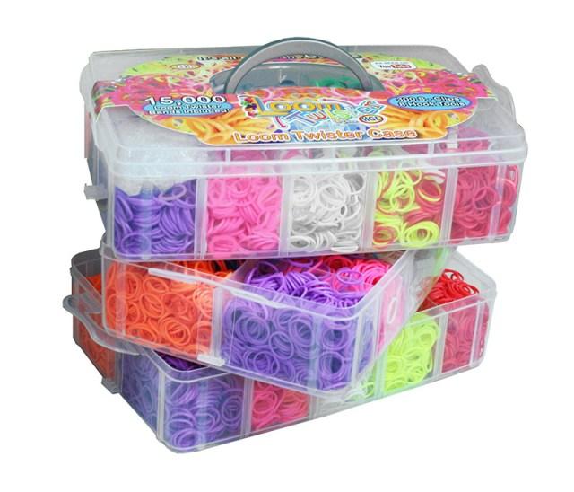 Наборы с резинками для плетения браслетов и игрушек