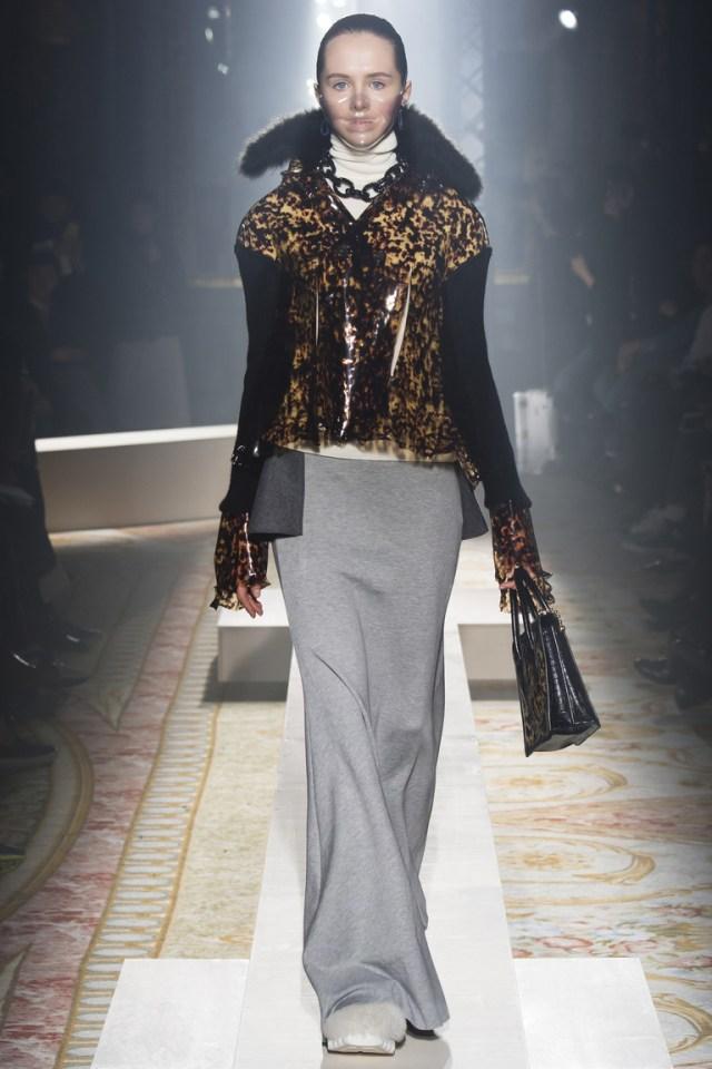Модная куртка 2016 с леопардовой расцветкой – фото новинка в коллекции Undercover