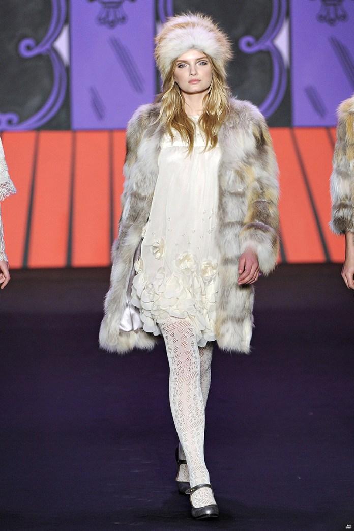 Меховая модная зимняя женская шапка – фото новинки сезона