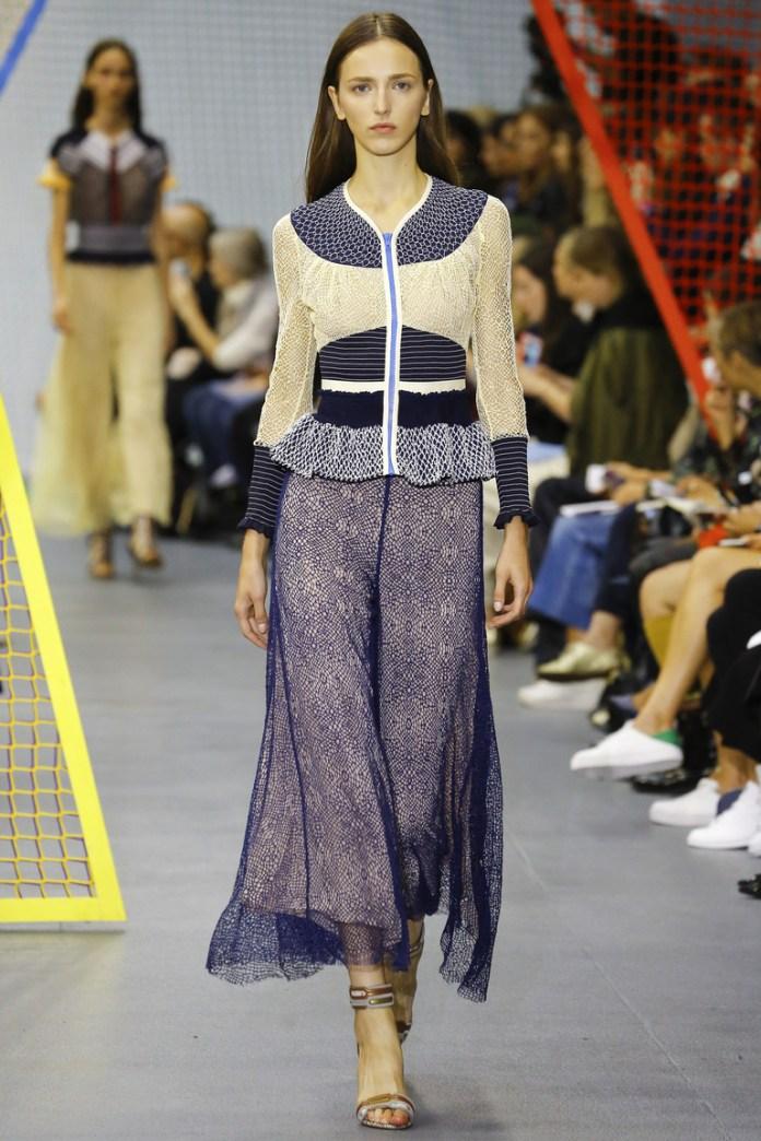 Длинная модная модель юбки 2016 – фото новинка сезона в коллекции Peter Pilotto
