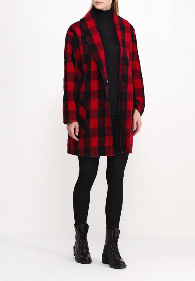 Модное пальто в крупную клетку - Native Youth, средняя цена – 7810 руб