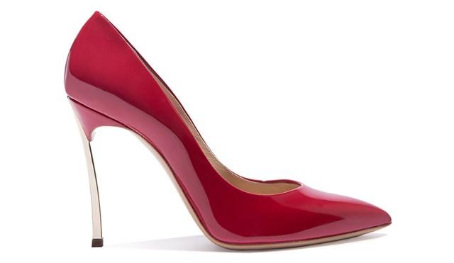 Модные красные туфли лодочки в новой коллекции Casadei