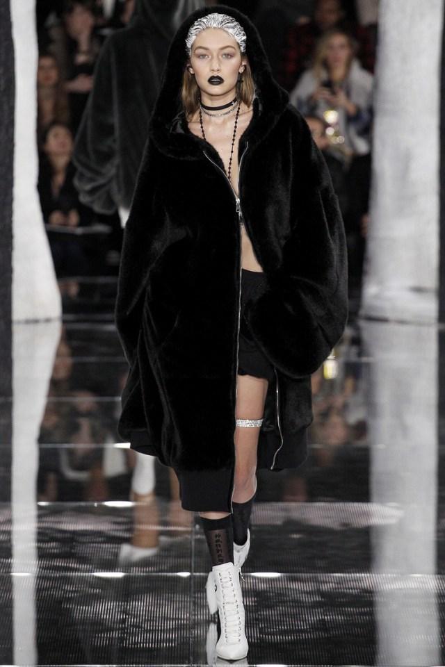 Fenty x Puma осень-зима 2016-2017 на Неделе моды в Нью-Йорке
