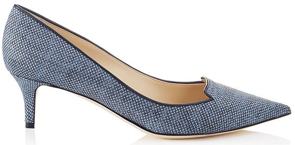 Классические туфли лодочки Jimmy Choo на низком каблуке – идеальная модель на каждый день