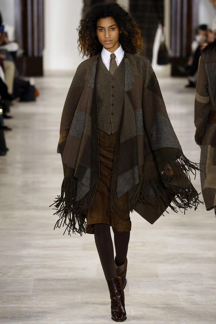 Коллекция Ralph Lauren осень-зима 2016-2017