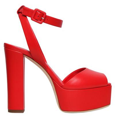 Массивный каблук по-прежнему в моде. Туфли из новой коллекции Giuseppe Zanotti.