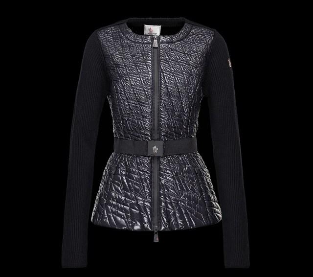 Женский джемпер из новой коллекции верхней одежды Монклер