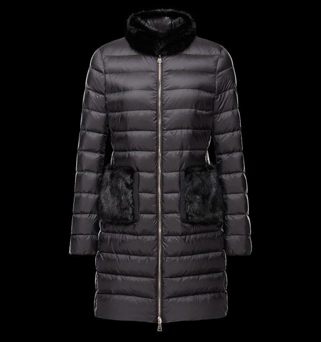 Пуховик пальто из новой коллекции Moncler
