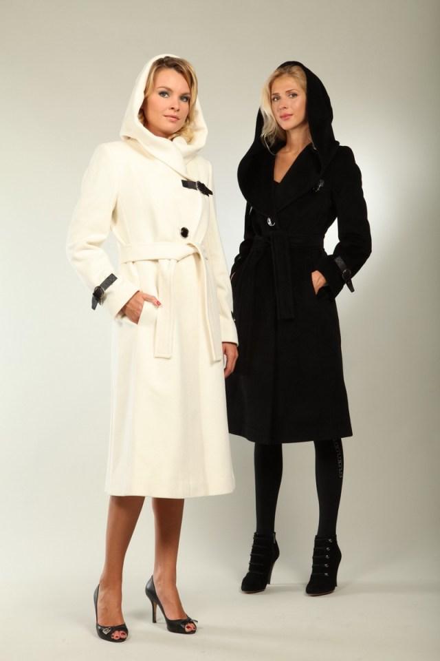 Классические варианты моделей пальто с капюшоном – модели, которые никогда не выйдут из моды