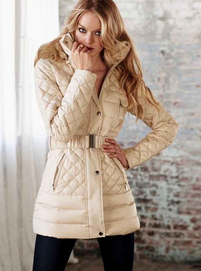 Куртка-пальто на синтепоне – симпатичная верхняя одежда