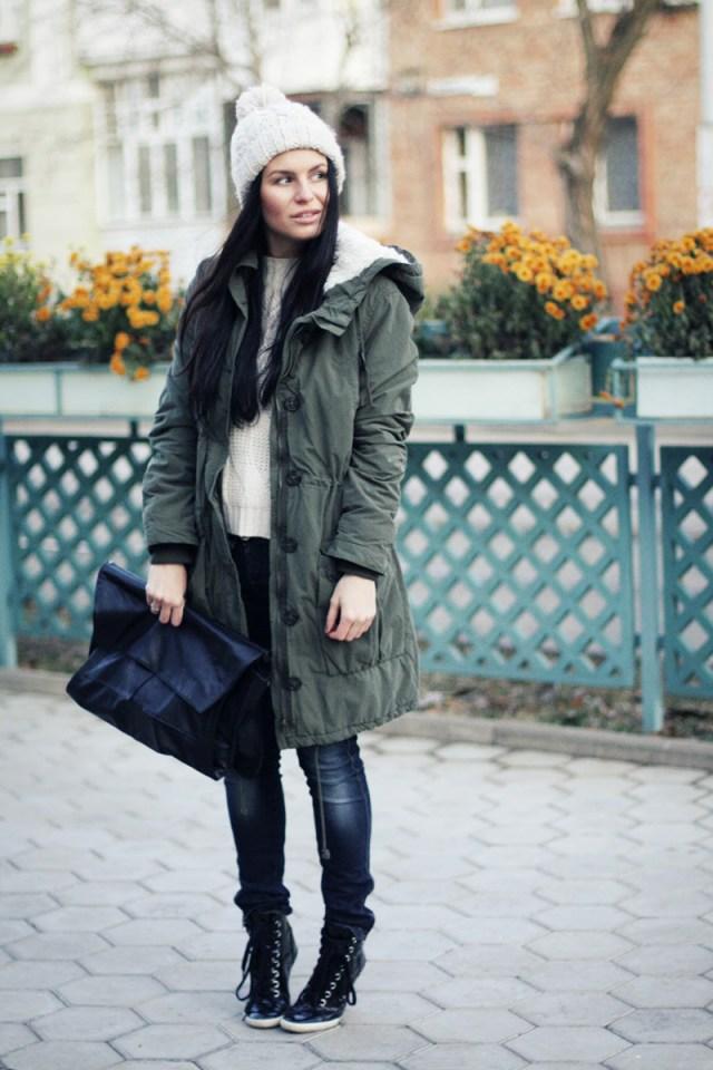 Фото новинки: женская куртка парка с брюками