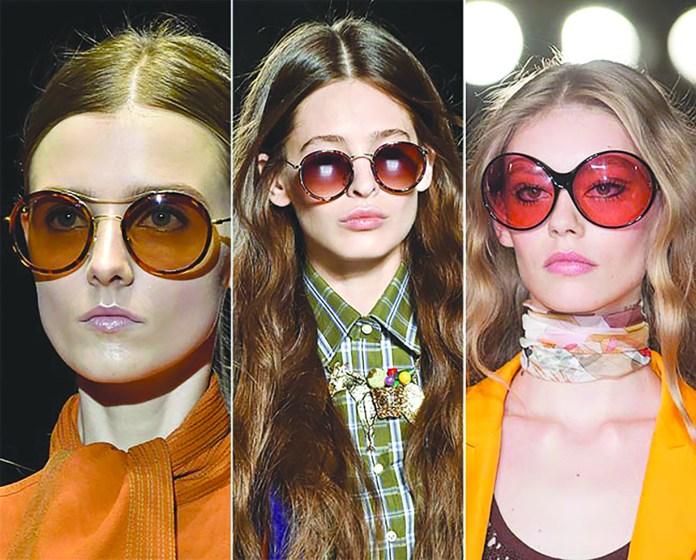 Стильные объемные очки в стиле ретро