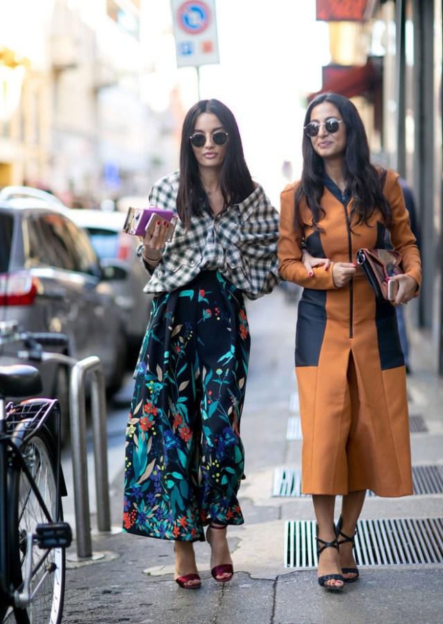 Тренды уличной моды демонстрируют длинные юбки, коллекции весна и лета 2016