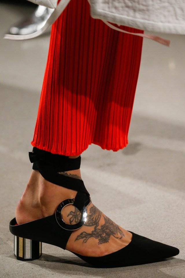 Мода сезона веснв 2016-туфли из коллекции Proenza Schouler