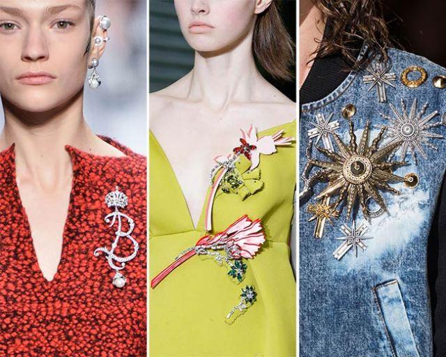Самый модный аксессуар 2016 года - брошь.