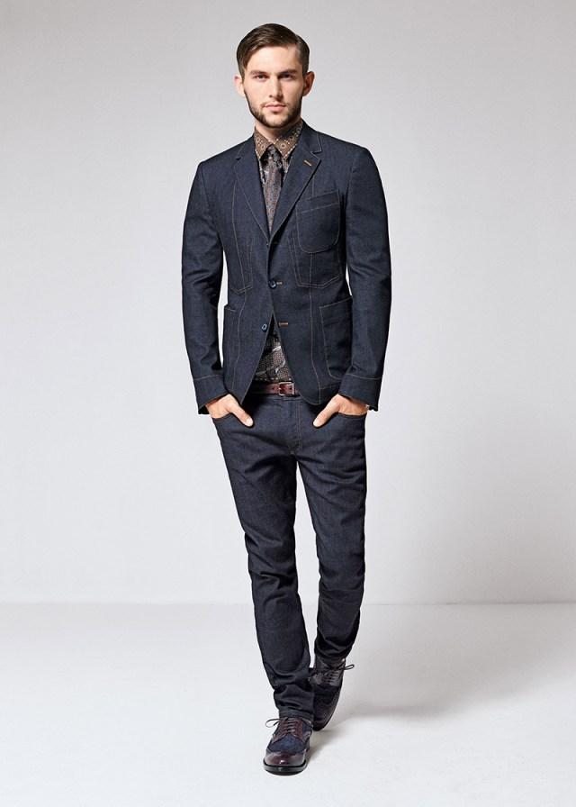 Элегантные джинсовые костюмы из коллекции Dolce&Gabba