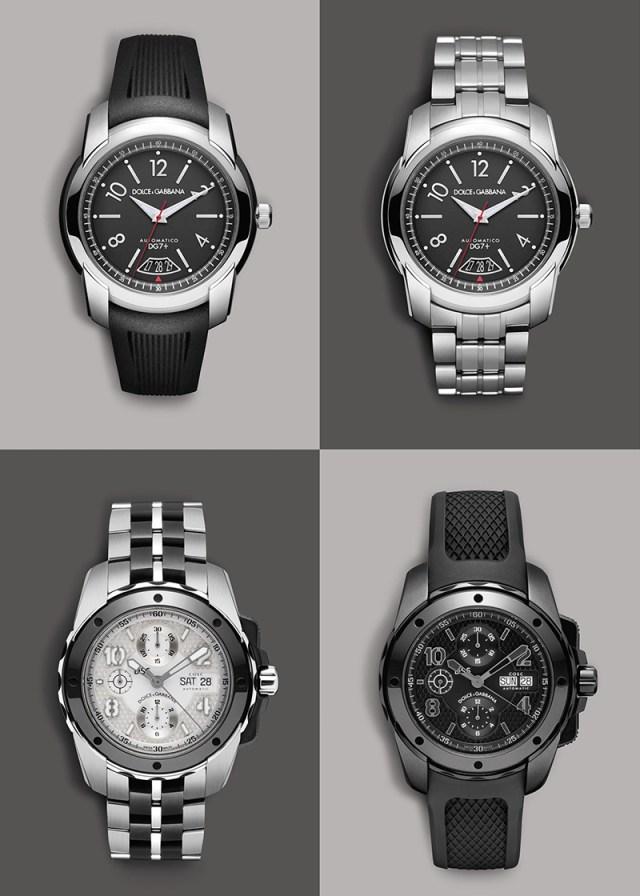 Коллекциия часов от Dolce&Gabbana.