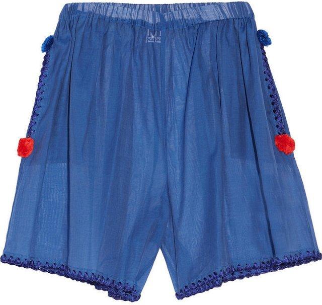 Помпоны – тренд сезона попмоны на шортах.