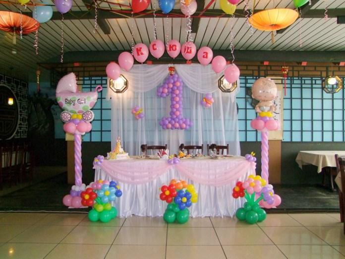 На фото: празднование детского дня рождения.