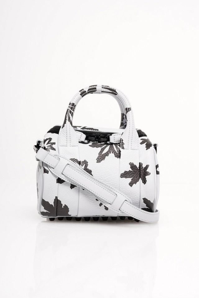 На фото: маленькая сумочка - новинка сезона из коллекции На фото: маленькая сумочка - новинка сезона из коллекции Alexander Wang.