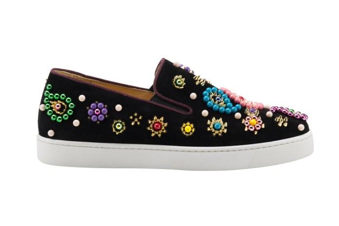 На фото: обувь в тренде комфорт из коллекции Christian-Louboutin.