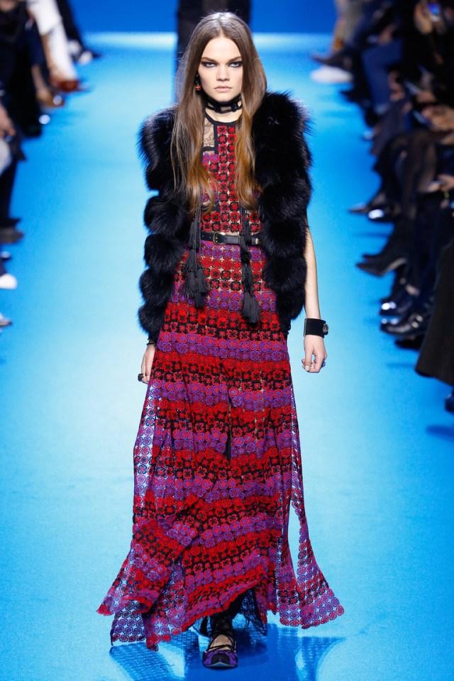 Модная одежда сезона зима 2017 - жакет, фото обзор из коллекции Elie Saab.