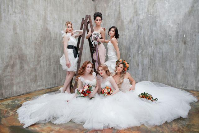 На фото: ошибка свадебной фотосессии.