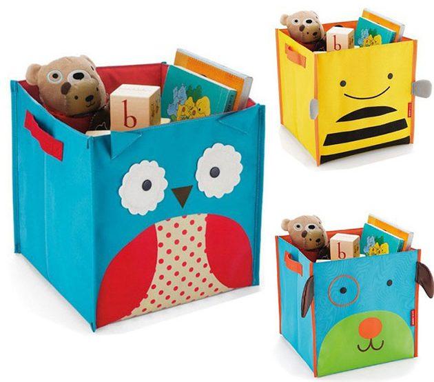 Коробки для хранения игрушек с мультяшным дизайном