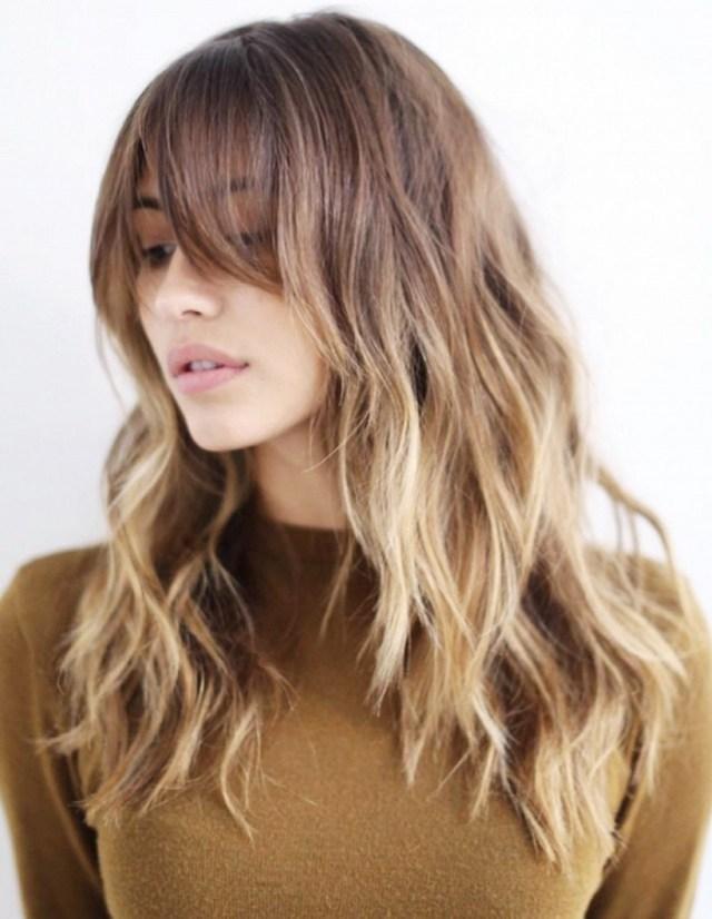На фото: модные техники окрашивания волос осень-зима 2016-2017.