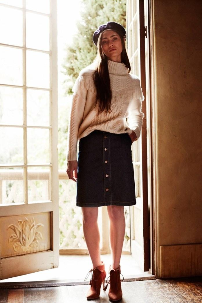 На фото: новый крутой модный образ из коллекции Joie.