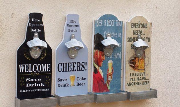 Кухонная утварь: уникальная открывалка для пивной бутылки