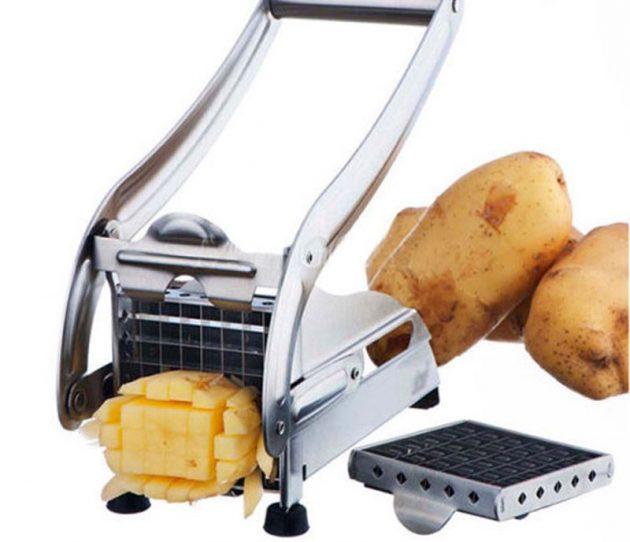 Кухонная утварь. Слайсер-машинка для резки картошки фри