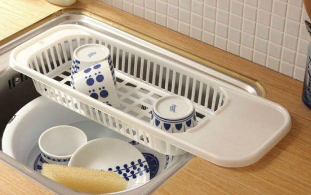 Кухонная утварь. Корзинка для вымытой посуды