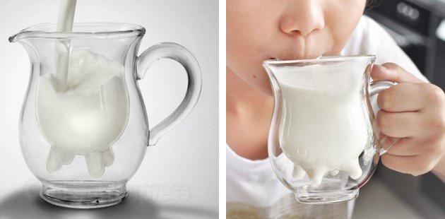 Детские чашки в виде кувшинов под молоко