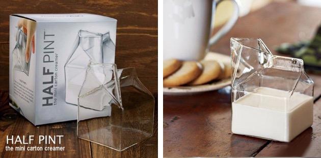 Кувшин для молока в стиле минимализм