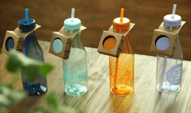 Специальные бутылки для лимонада