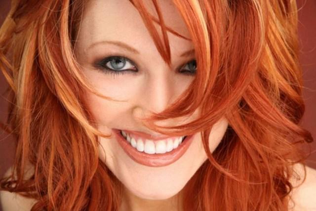 Ярко-рыжий оттенок волос 2017