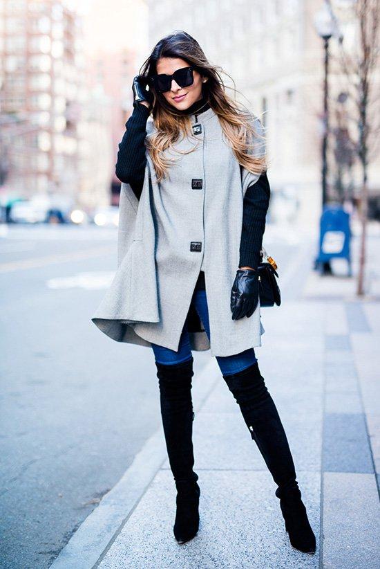 Серая одежда – не значит скучная. Как носить самый модный цвет – серый?