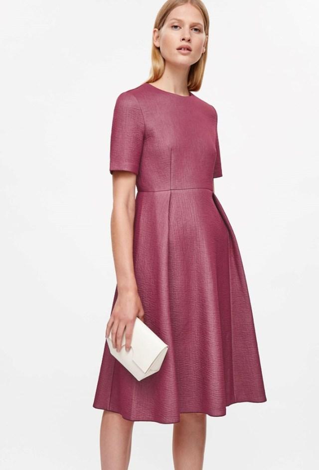 Ярко-сиреневое платье 2017 - отличный вариант на каждый день