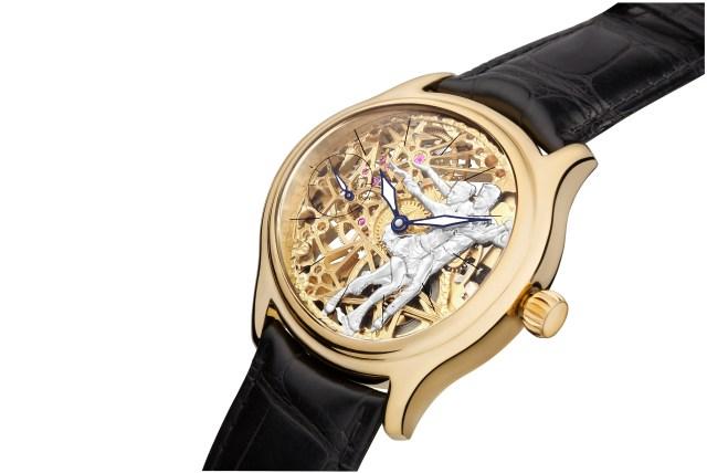 НИКА Exclusive создали настоящий шедевр золотые часы «Время чемпионов»