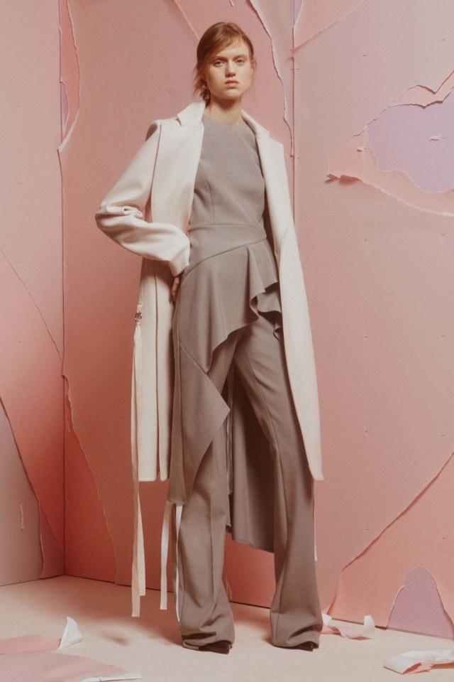 Белый модные кардиганы 2017 максимальной длины фотообзор коллекции ADEAM.