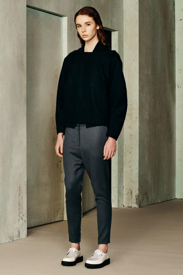 Черный укороченный модный кардиган 2017 фото обзор коллекции i-Oh.