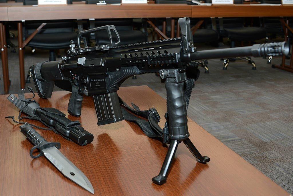 Trabzon ve Giresun'da Yerli Üretim Silahlar