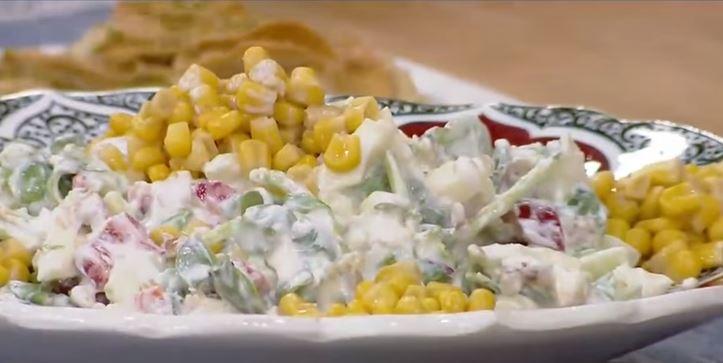 Semizotu Salatası yapımı