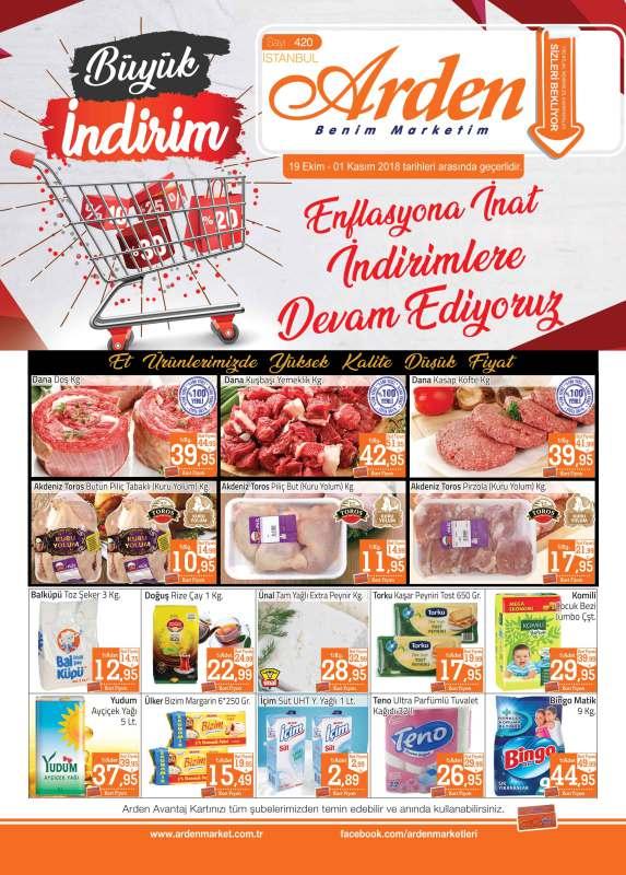 Arden Market 19 Ekim-1 Kasım 2018 Insert