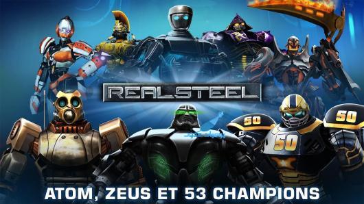 Real Steel لعبة القتال 2016 لنيل البطولة