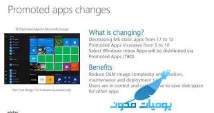 الإعلانات ستتضاعف بتطبيقات قائمة التشغيل على مايكروسوفت
