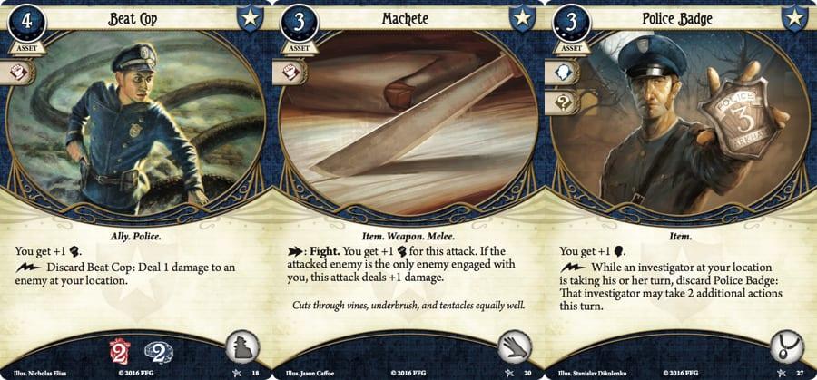 AH LCG - Blue cards YP