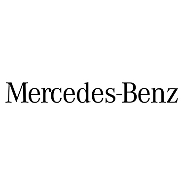 Mercedes Benz – Blue Rectangular Classic Sunglasses with Case