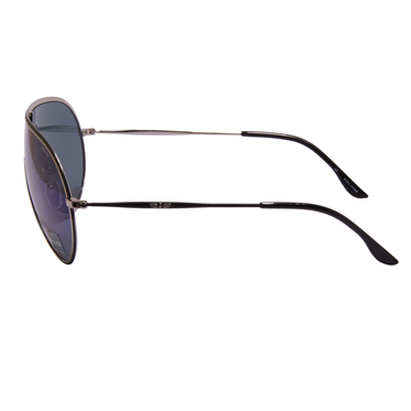 Police – Silver and Black Visor Style Sunglasses